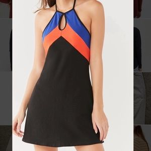 Urban Outfitters Cut-Out Halter Dress